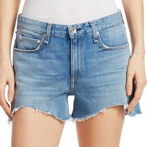 Rag and Bone Dre Low Rise Denim Shorts Sz 28